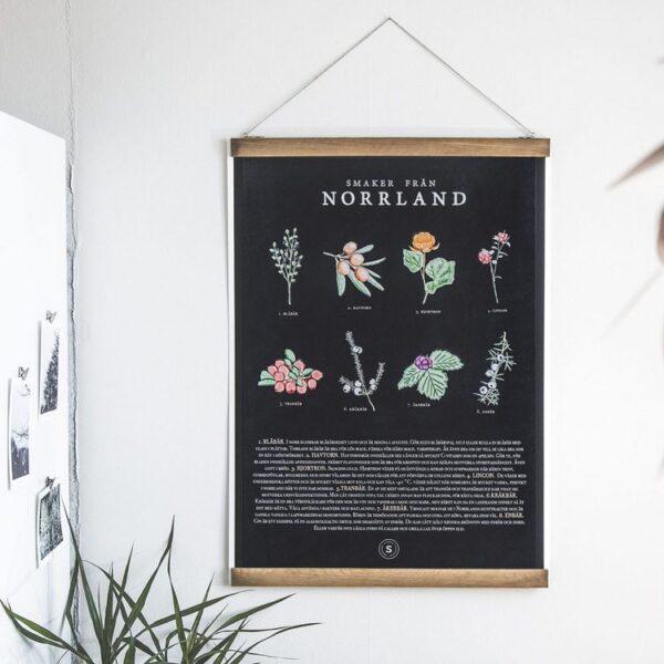 Poster, SMAKER FRÅN NORR.