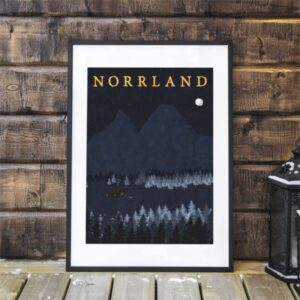 Poster NORRLAND.
